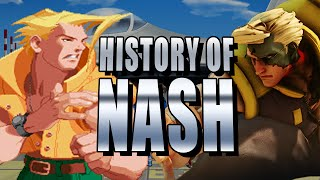 HISTORY OF NASH: Super Arts (Street Fighter Story)