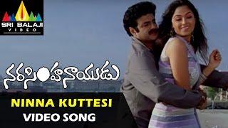 Narasimha Naidu Video Songs | Ninna Kuttesinaadi Video Song | Balakrishna, Simran | Sri Balaji Video