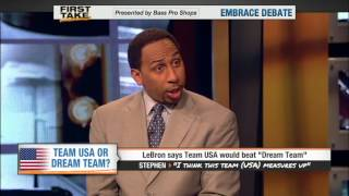 LeBron says Team USA would beat Dream Team