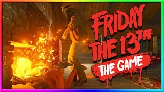 IS IT HOT IN HERE?   Friday the 13th Game Early Gameplay