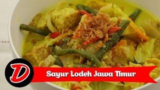 Resep Sayur Lodeh Jawa Timur