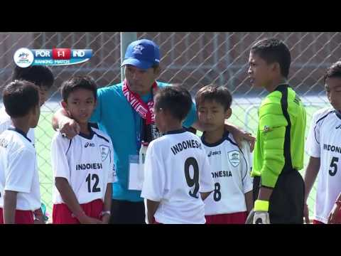 Portugal vs Indonesia Ranking Match 9 16 Highlights Danone Nations Cup 2015