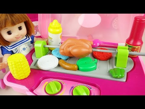 Xxx Mp4 Baby Doll Kitchen Bag Food Cooking Play Baby Doli Play 3gp Sex