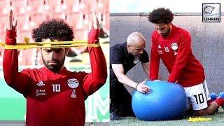 Mohamed Salah Test Injured Shoulder As First Match Against Uruguay