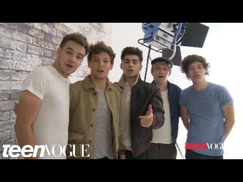 One Direction in Teen Vogue