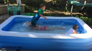 Intex Swim Center Family Inflatable Kiddie Pool