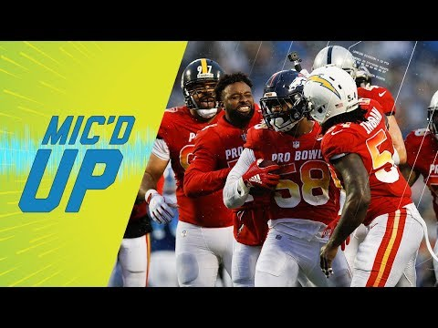 Best Mic d Up Sounds of Pro Bowl 2018 Sound FX NFL Films
