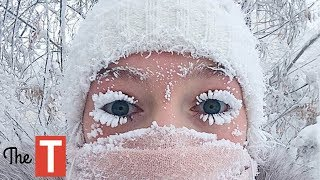 20 Hilarious Pictures Of People Vs. Winter