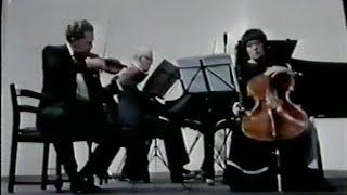 Richter, Kagan & Gutman play Shostakovich Piano Trio no. 2 - video 1984