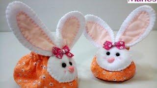 Babuchas para bebé con cabecita de conejo