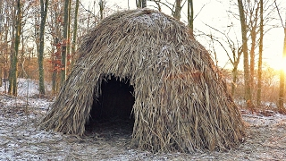 Building a Shelter (Thatched Hut)