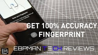 How to fix Galaxy S10 Plus Ultrasonic Fingerprint Tip |  100% Accuracy