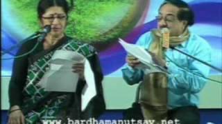 Srutinatak - Jagannath Basu and Urmimala Basu [ Bardhaman Utsav 2010 ].mpg