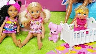 Patron Bebek Barbie Oyuncak Bebek Chelsea Evine Geliyor! Korkunç   Evcilik Oyunu   Oyuncak Butiğim