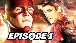 The Flash Season 4 Episode 1 Revealed and Comic Con 2017