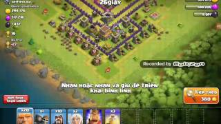 cách chiếm nhà mạnh trong clash of clan :)