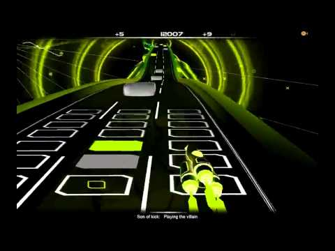 Audiosurf Son of kick - Playing the villain.mp4