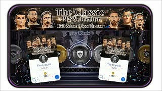 Odds Of Geting A BlackBall! The Classic + PES Selection 169 Stars Box Draw ~ PES Mobile