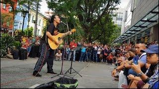 Anak singkong versi rock,pelancong india masuk menari