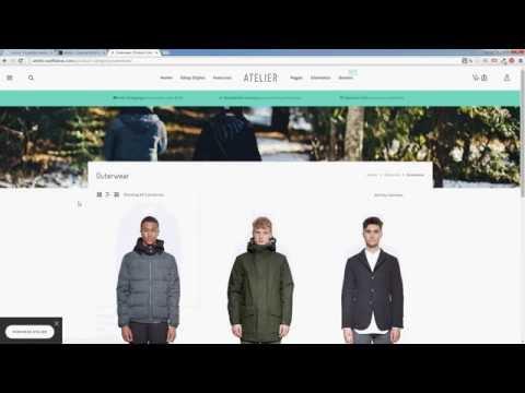 Atelier review - Multi-Purpose eCommerce WP theme