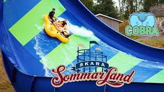 Cobra Water Slide at Skara Sommarland Water Park
