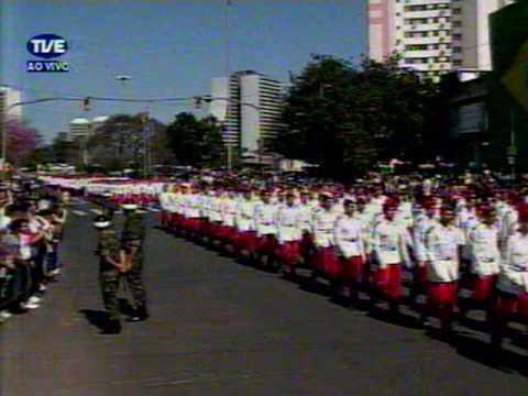 CMPA Desfile de 7 de Setembro de 2009 vídeo 1