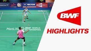 Danisa Denmark Open 2017 | Badminton R16 – Highlights
