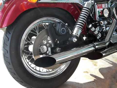 98 harley davidson dyna low rider screaming eagle pipes evo