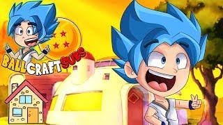 CASA SAIYAN VS CASA NORMAL #47   BallCraftSubs   Minecraft Serie con SUBS