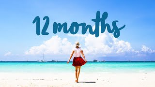 12 months in 60 seconds || video by Little Grey Box