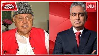 Ex J&K CM Farooq Abdullah Speaks To Rajdeep Sardesai: