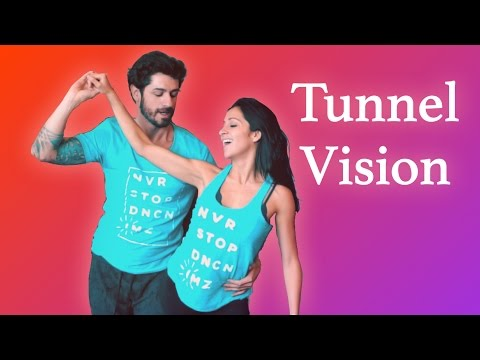 Wow! A Totally Improvised Zouk Dance by Anderson Mendes & Brenda Carvalho - Tunnel Vision - I'M Zouk
