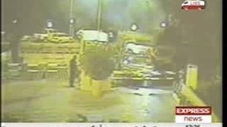 Islamabad Bomb Blast CCTV Footage-Marriott Hotel
