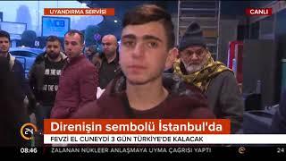 #Kudüs direnişinin sembolü Cuneydi Türkiye
