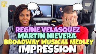 Regine Velasquez & Martin Nievera - Broadway Musical Medley | PATREON IMPRESSION