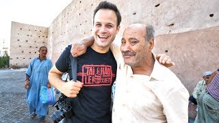 Going DEEP For Street Food in Morocco - BREAKFAST Tour of Marrakech!