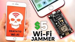 The Illegal $5 WiFi Jammer for iPhone & Android