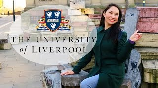 Review of University of Liverpool, campus tour, student interview