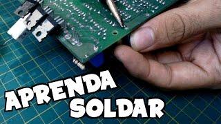 🔶 Dessoldar e soldar componentes eletrônicos