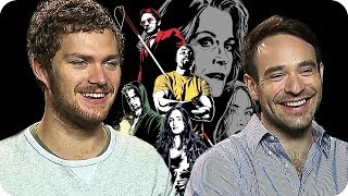 Marvels THE DEFENDERS Season 1 INTERVIEW (2017) Marvel Netflix Series