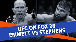 UFC On Fox 28 Picks | Josh Emmett vs Jeremy Stephens