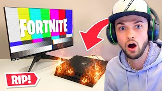 Fortnite BROKE my PS4...