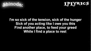 Linkin Park- A Place For My Head [Lyrics on screen] HD