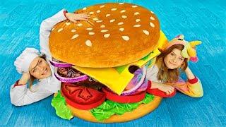 DIY Worlds Largest Squishy / Giant Squishy Food