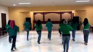 Jakarta Hongkong Line Dance - d'ULD CB Surabaya