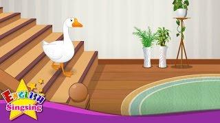 Goosey Goosey Gander - English Nursery Rhyme - Children