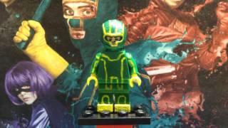 Custom Lego Kick-Ass Minifigure Showcase