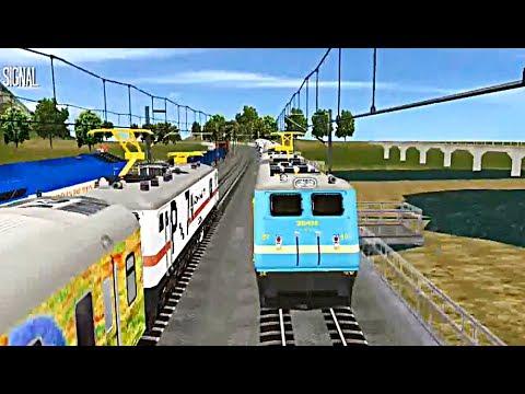 Indian Train Simulator - Custom - Solapur to Surat (WAG-7 Double Heading - Jan Shatabdi)