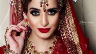 Traditional Bridal makeup tutorial  by Nadia - Asian Bride Live