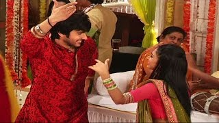 Ranvijay dances during Veera's haldi ceremony